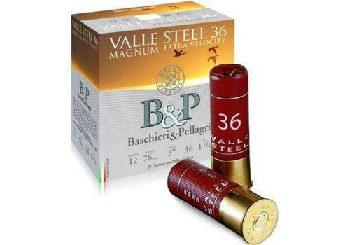 OSA2016-SLAB-B&P VALLE STEEL 12G 76MM 33GM #2 250RNDS