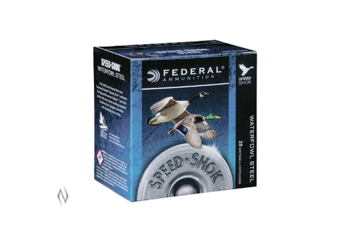 NIO995-FEDERAL SPEEDSHOK STEEL 20G 21GM #4 25RNDS