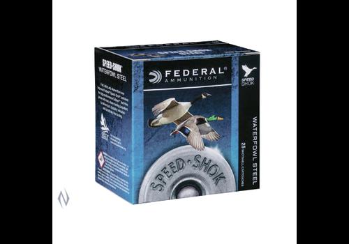 "NIO995-FEDERAL SPEEDSHOK STEEL 20G 2.75"" 21GM #4 1425FPS 25RNDS"
