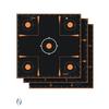 Allen ALLEN EZ AIM SPLASH ADHESIVE SIGHT IN GRID TARGET 12X12 5PK (NIO386)