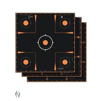 ALLEN EZ AIM SPLASH ADHESIVE SIGHT IN GRID TARGET 12X12 5PK (NIO386)