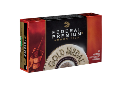 FEDERAL MATCHKING 308WIN 168GR GOLD MEDAL 20RND (NIO107)