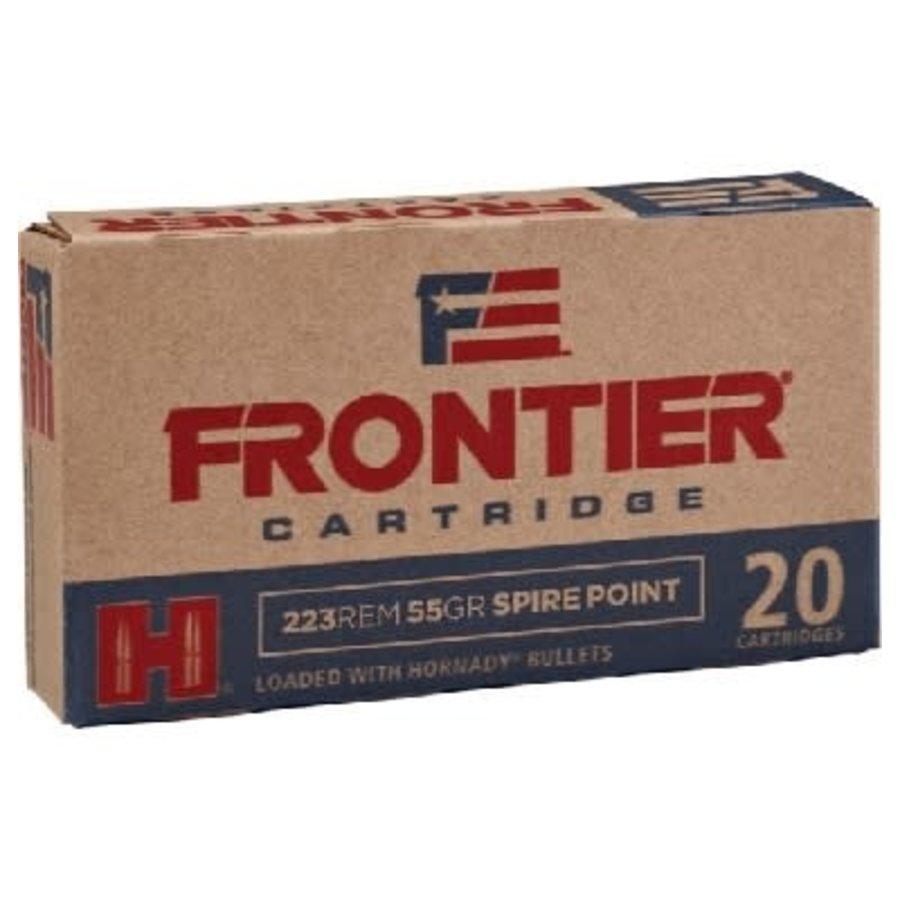 HORNADY FRONTIER 223 REM 55GR SPIRE POINT 20PK (HSS009)