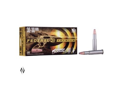 FEDERAL 30-30WIN 150GR FN HAMMER DOWN 20RNDS (NIO106)