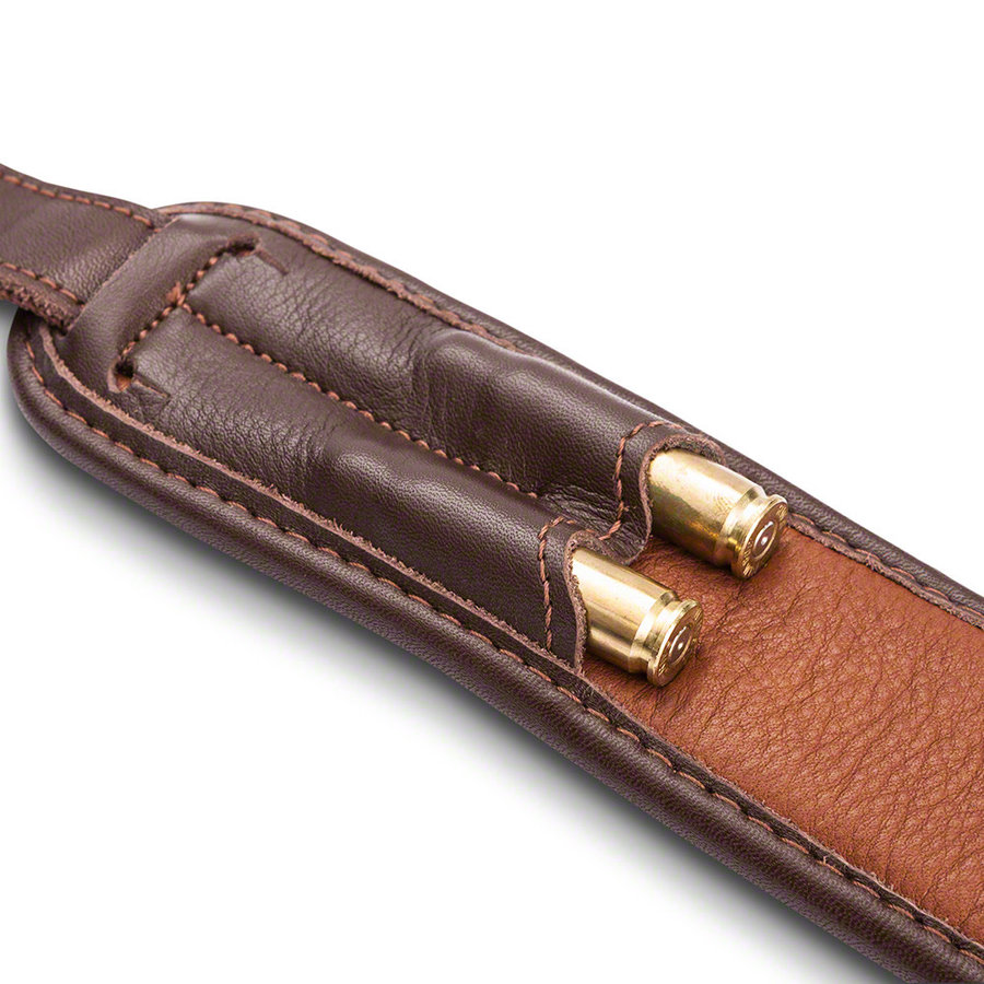 OSA022-BLASER RIFLE SLING LEATHER BROWN