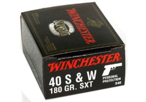 WIN070-WINCHESTER SUPREME 40 S&W 180GR SXT 20RNDS