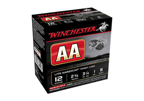WINCHESTER AA LITE HANDICAP 12G 70MM 28GM #8 25RNDS (WIN116)