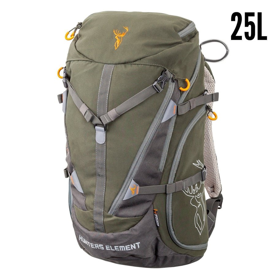 HUE238-HUNTERS ELEMENT CANYON PACK FOREST GREEN