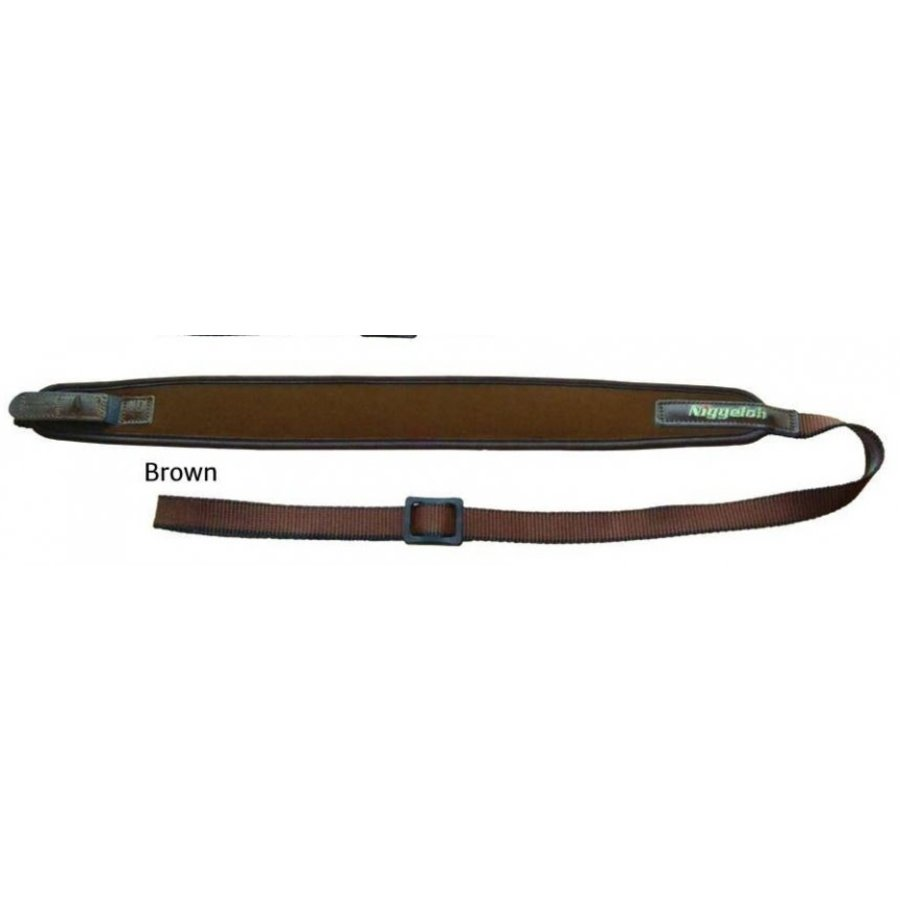 NIGGELOH RIFLE SLING LEATHER BROWN QUICK RELEASE (MOA045)