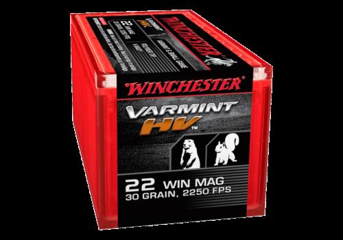 WINCHESTER VARMINT HV 22WMR 30GR VMAX 50RD (WIN1185)