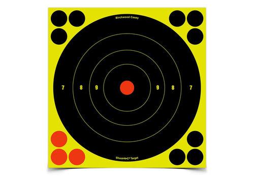"""SHOOT N C 8"""" BULL'S-EYE TARGET(TAS056)"""