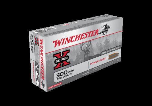 WINCHESTER SUPER X 300WSM 180GR PP 20RD (WIN1187)