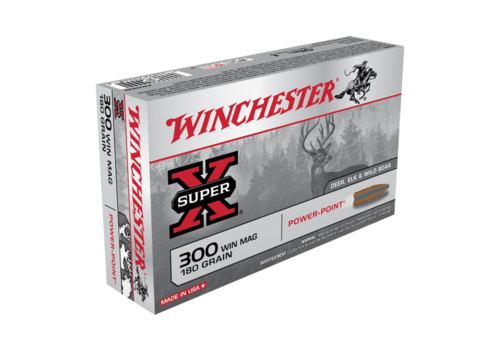 WINCHESTER SUPER X 300 WIN MAG 180GR PP 20RNDS (WIN252)