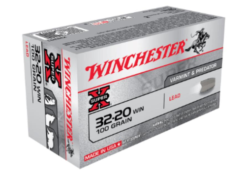 WINCHESTER 32-20 WIN 100GR LEAD 50RNDS (WIN1120)