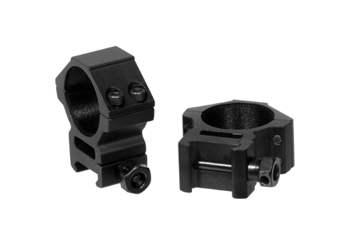 LEAPERS UTG ACCUSHOT 30MM MEDIUM PROFILE WEAVER MOUNT RINGS (CRK055)