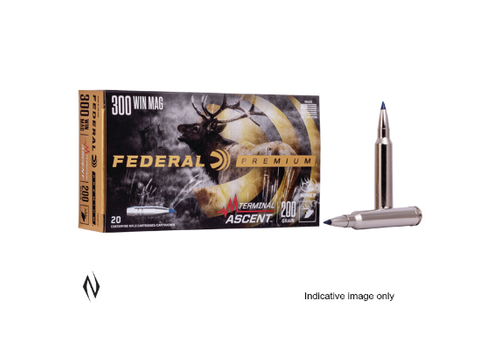 FEDERAL 300 WSM 200GR TERMINAL ASCENT 20RNDS(NIO1032)