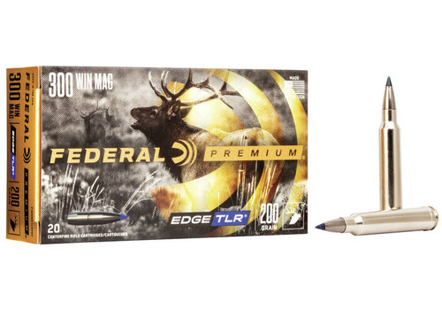 FEDERAL 300 WIN MAG 200GR EDGE TLR 20RNDS (NIO1037)