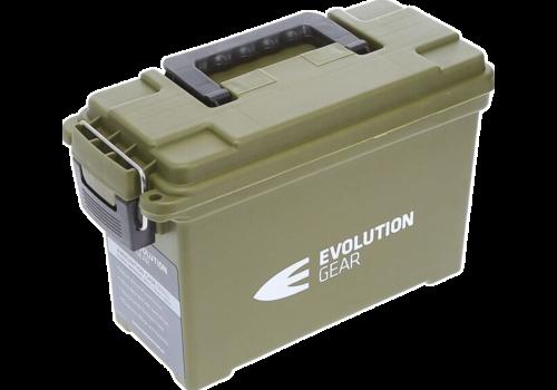EVO SMALL AMMO CASE/DRY BOX OLIVE DRAB WEATHERPROOF(EVO050)