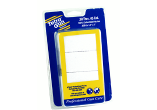 OSA1055-TETRA PROSMITH CLEANING PATCHES .30-.45 (300)