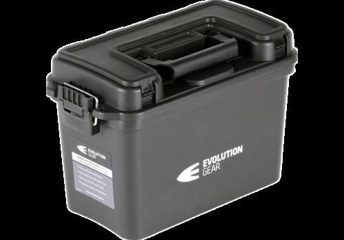 EVO LARGE AMMO BOX /DRY BOX BLACK WEATHERPROOF (EVO046)