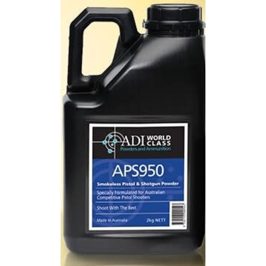 ADI PISTOL SHOTGUN APS950 POWDER 2KG (WIN082)