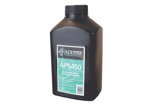 ADI PISTOL AND SHOT GUN POWDER APS450 500GR (OSA1649)