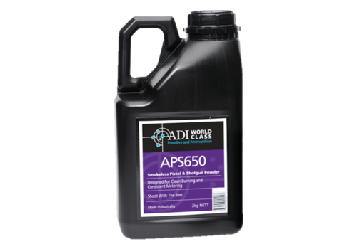 ADI PISTOL SHOTGUN POWDER APS 650 2KG (WIN650)