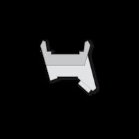 OSA2794-BLASER R8 SWAROVSKI SADDLE MOUNT BASE ONLY (ADD RINGS)