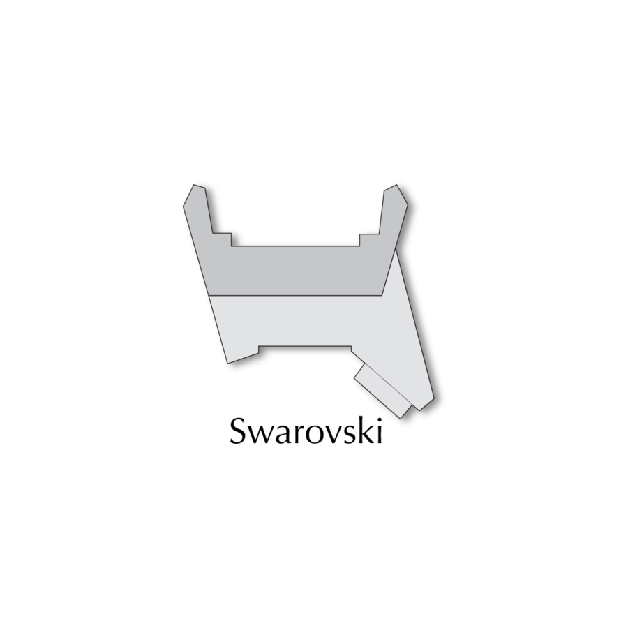 BLASER R8 SWAROVSKI SADDLE MOUNT BASE ONLY (ADD RINGS) (OSA2794)