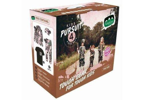 RIDGELINE KIDS PURSUIT PACK PINK CAMO