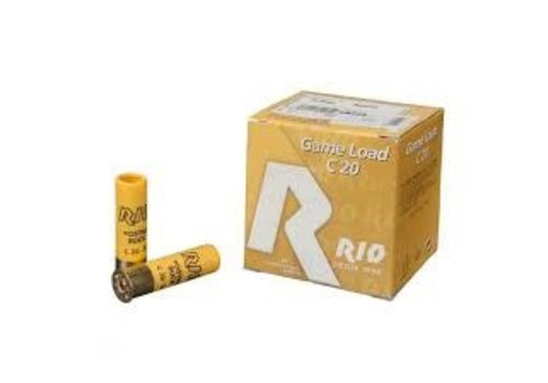 """HOR042-RIO GAME LOAD 20G 2.75"""" #4 28GM 25RNDS"""