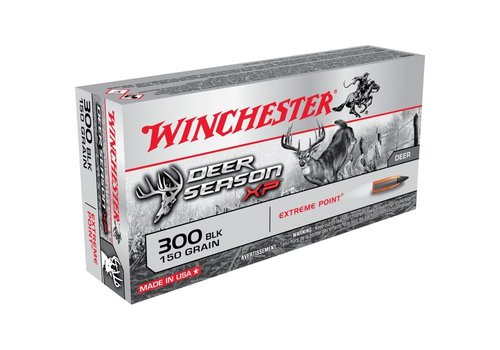 WINCHESTER DEER SEASON 300 BLACKOUT 150GR XP 20RNDS (WIN043)