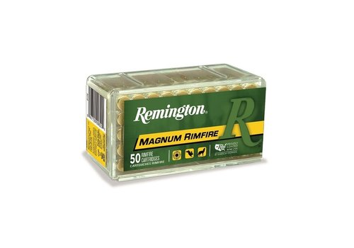 REMINGTON MAGNUM RIMFIRE 22WMR 40GR JHP 50RNDS(RAY151)
