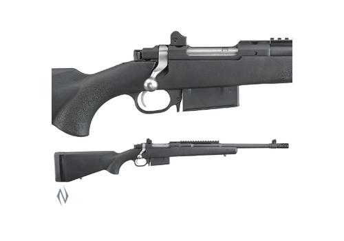 """RUGER 77 GUNSITE SCOUT BLUE SYNTHETIC 350 LEGEND 16.5"""" BRAKE(NIO1187)"""