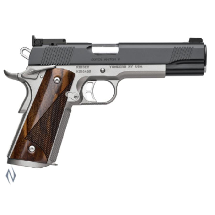 KIMBER 1911 SUPER MATCH II 45ACP 127MM (NIO2385)
