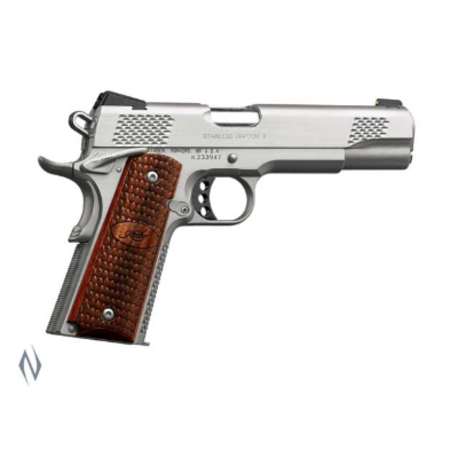 KIMBER 1911 STAINLESS RAPTOR II 9MM 127MM 9RDS (NIO2383)
