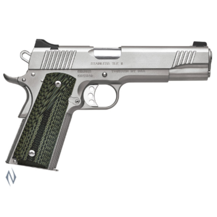 KIMBER 1911 STAINLESS TLE II 45ACP 127MM 7RDS (NIO2375)