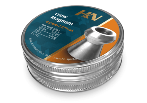ALC194-PELLETS-H&N CROW MAGNUM .177 500RNDS