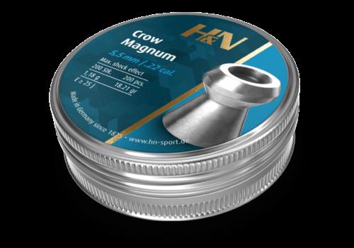 ALC018-PELLETS-H&N CROW MAGNUM .22 200RNDS