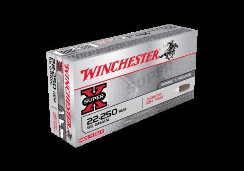 WIN234-WINCHESTER SUPER X 22-250REM 55GR PSP 20RNDS