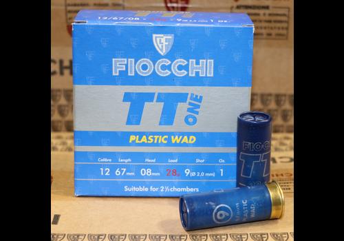 TAS075-FIOCCHI ITALY TT ONE 12G 28GR #9 1300FPS 25RNDS