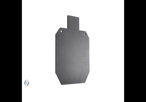 "NIO1235-CHAMPION AR500 CENTREFIRE RIFLE STEEL TARGET 3/8"" FULL SIZE IPSC"