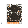 CHAMPION NIO1253-CHAMPION TARGET VISICOLOR ADHESIVE BULLSEYE VARIETY 5 PACK + PATCHES