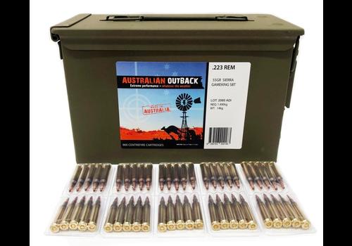 OSA1523-AUSTRALIA OUTBACK 223REM 55GR SIERRA GAMEKING M2A1 CAN (900RND)