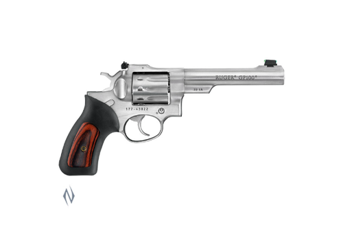 NIO1366-RUGER GP100 22LR STAINLESS 140MM 10 SHOT