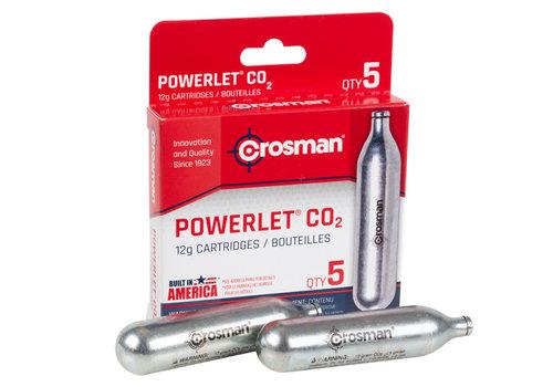 RAY1077-CROSMAN CO2 POWERLET 5PK