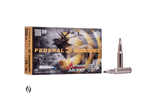 NIO151-FEDERAL 308 WIN 175GR TERMINAL ASCENT 20RNDS