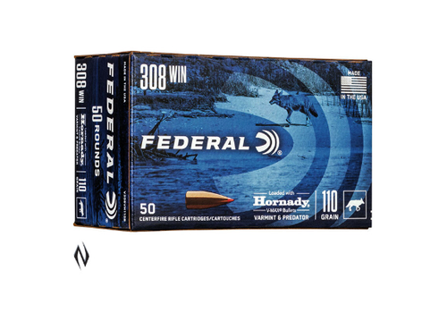 NIO153-FEDERAL 308 WIN 110GR VMAX 50RND