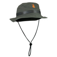 ANC587-SPIKA GUIDE BUCKET HAT ADULT-PERFORMANCE OLIVE