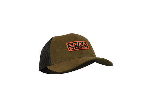 ANC593-SPIKA GO CASUAL TRUCKER CAP ADULT-BROWN